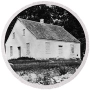 Antietam: Dunker Church Round Beach Towel