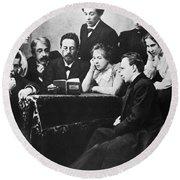Anton Chekhov (1860-1904) Round Beach Towel