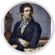 Antonio Canova (1757-1822) Round Beach Towel