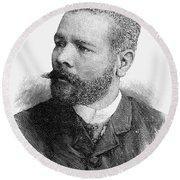 Antonio Maceo (1848-1896) Round Beach Towel