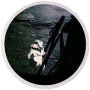 Apollo 14 Astronaut Al Shepard Round Beach Towel