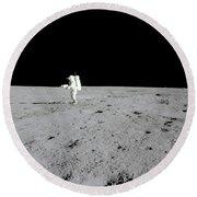 Apollo 14 Astronaut Makes A Pan Round Beach Towel