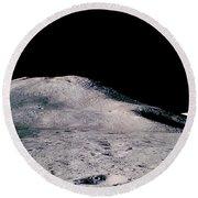 Apollo 15 Lunar Landscape Round Beach Towel