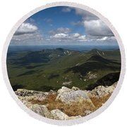 Appalachian Trail View Round Beach Towel