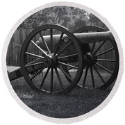 Appomattox Cannon Round Beach Towel
