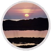 Ardnamurchan Peninsula, Lochaber Round Beach Towel