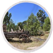 Arizona Wagon Round Beach Towel