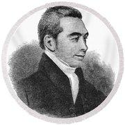 Arnold Buffum (1782-1859) Round Beach Towel