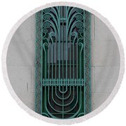 Art Deco 11 Round Beach Towel