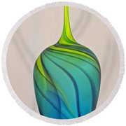 Art Glass Round Beach Towel