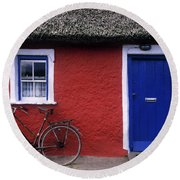 Askeaton, Co Limerick, Ireland, Bicycle Round Beach Towel