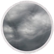 Asperatus - Sky Before Storm Round Beach Towel