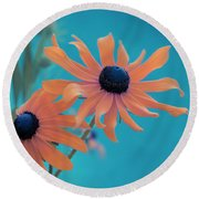 Attachement - S02cz Round Beach Towel by Variance Collections
