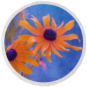 Attachement - S11at01d Round Beach Towel by Variance Collections