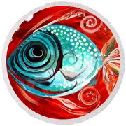 Attract Round Beach Towel