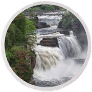 Ausable Chasm 5172 Round Beach Towel
