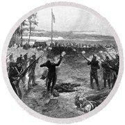 Australia: Rebellion, 1854 Round Beach Towel