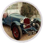 Auto: Alfa-romeo, 1933 Round Beach Towel