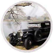 Auto: Rolls-royce, 1925 Round Beach Towel
