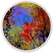 Autumn 458963 Round Beach Towel