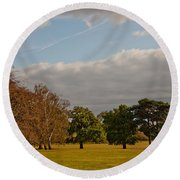 Avery Hill Park Round Beach Towel