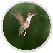Awesome Hummingbird Round Beach Towel
