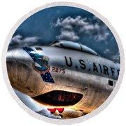 B-47 Stratojet Round Beach Towel