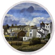 Back To Shoreham Round Beach Towel