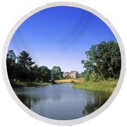 Ballinlough Castle, Clonmellon, Co Round Beach Towel
