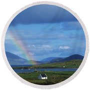 Ballinskellig, Ring Of Kerry, Co Kerry Round Beach Towel