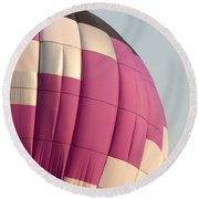 Balloon-purple-7462 Round Beach Towel