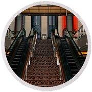 Baltimore Stairway Round Beach Towel