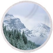 Banff National Park, Alberta, Canada Round Beach Towel