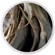 Banyan Round Beach Towel