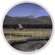 Barn Round Beach Towel