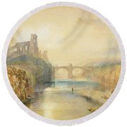 Barnard Castle  Round Beach Towel