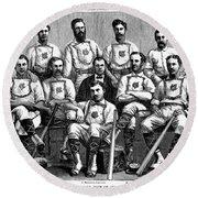 Baseball: Canada, 1874 Round Beach Towel