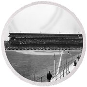 Baseball Game, C1912 Round Beach Towel