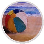 Beach Ball Round Beach Towel
