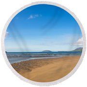 Beach Ireland Round Beach Towel
