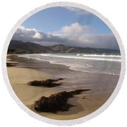 Beach Surf Round Beach Towel