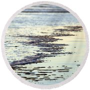 Beach Water Round Beach Towel
