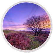 Beacon Hill Sunrise 1.0 Round Beach Towel