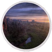 Beacon Hill Sunrise 6.0 Round Beach Towel