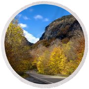 Beautiful Vermont Scenery 26 Round Beach Towel