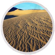 Beauty Of Death Valley Round Beach Towel by Bob Christopher