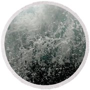 Beginning To See The Light Round Beach Towel