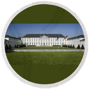 Bellevue Palace Berlin Round Beach Towel