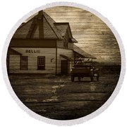 Bellis Alberta Round Beach Towel