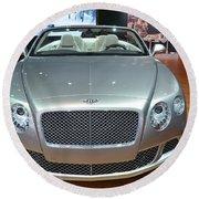 Bentley Starting Price Just Below 200 000 Round Beach Towel